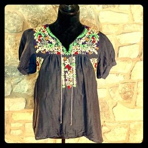 MM Couture Peasant Blouse